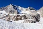Thumbnail View during the ascent to Marmolada Mountain, Westgrat climbing route, looking towards Marmolada Mountain, Dolomites, Trentino, Italy, Europe
