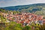 Thumbnail Overlooking Spangenberg, Schwalm Eder district, Hesse, Germany, Europe, PublicGround
