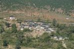 Thumbnail Typical village built on a hillside near Wangdue Phodrang near Punakha, Himalaya, Kingdom of Bhutan, South Asia, Asia