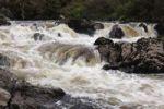 Thumbnail Waterfall at Glen River near Carrick, County Donegal, Ireland, Europe