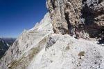 Thumbnail Kletterer im Alpinisteig, Sexten, Hochpustertal, Dolomiten, Südtirol, Italien, Europa