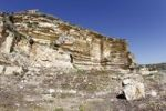 Thumbnail Sandstone cliffs below the Theater of Kourion, Southern Cyprus, Cyprus, Greece, Europe