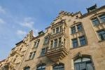 Thumbnail Commercial building facade on Anger, Erfurt, Thuringia, Germany, Europe