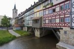Thumbnail Merchants' Bridge, Erfurt, Thuringia, Germany, Europe
