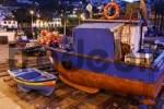 Thumbnail fishing boats in the harbour of, Camara de Lobos, Madeira, Portugal