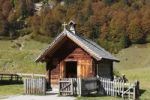 Thumbnail Eng-Alm, small chapel on mountain pasture, Grosser Ahornboden, pasture with maple trees, Risstal, Karwendel Mountains, Tyrol, Austria, Europe, PublicGround