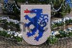 Thumbnail crest of Ingolstadt made from eggs, Ingolstadt, Bavaria, Germany
