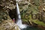 Thumbnail waterfall, Hacienda Guachipelin, Rincon de la Vieja, Guanacaste, Costa Rica