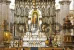 Thumbnail altar of the Cathedral Iglesia de Domingo in Puebla Mexico