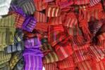 Thumbnail typical indian hand weaved textiles San Cristobal de las Casas Mexico