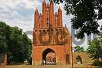 Thumbnail BRD Germany Brandenburg Neubrandenburg View of the Historical Gate at the City Wall