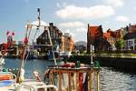 Thumbnail BRD Germany Mecklenburg Vorpommern Rostock at the Habour with Old Granary
