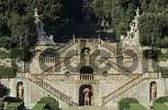 Thumbnail monumental stairway in the park of the villa Garzoni in Collodi Tuscany Italy