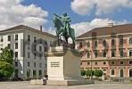 Thumbnail BRD Germany Bavaria Upper Bavaria Capitol of Bavaria Maximilian Duke of Bavaria Wittelsbacher Square Memorial of Duke Maximilian