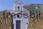 Thumbnail western front of church S. Pietro di Golgo Sardegna Italy