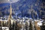 Thumbnail View of Davos in winter, Grisons, Switzerland