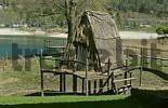 Thumbnail reconstruction of neolithic hut at Lake of Ledro Italy