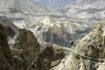 Thumbnail Barren high mountain landscape around the village Phu Nar-Phu Annapurna Region Nepal