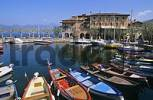 Thumbnail boats in harbour of Torri del benaco at Lake of Garda Italy