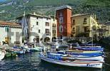 Thumbnail harbour of Cassone at Lake of Garda Italy