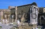Thumbnail remains of temple of Mars Ultor on ancient Forum Romanum in Rome Italy