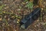 Thumbnail rat trap on bird sanctuary Ulva Island near Stewart Island New Zealand