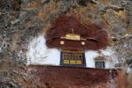 Thumbnail Tibetan Buddhism entrance to a religious cave Drak Yerpa Tibet China