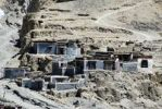 Thumbnail Pivate houses with grey and dark red painted walls Sakya Monastery Tibet China