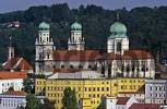 Thumbnail cathedral St Stephan town of Passau Bavaria Germany