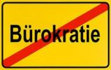 Thumbnail German city limits sign symbolising end of red tape