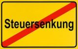 Thumbnail German city limits sign symbolising end of tax cutting