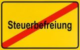 Thumbnail German city limits sign symbolising end of tax exemption