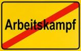 Thumbnail German city limits sign symbolising end of industrial action