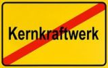 Thumbnail German city limits sign symbolising end of nuclear power plant