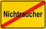 Thumbnail German city limits sign symbolising end of non-smoking area