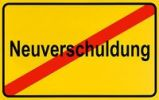 Thumbnail German city limits sign symbolising end of new indebtedness