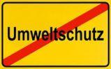 Thumbnail German city limits sign symbolising end of environmental protection