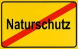 Thumbnail German city limits sign symbolising end of nature conservation