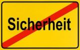 Thumbnail German city limits sign symbolising end of safety