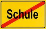 Thumbnail German city limits sign symbolising end of school
