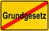 Thumbnail German city limits sign symbolising end of BCL Basic Constitutional Law of Federal Republic of Germany