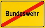 Thumbnail German city limits sign symbolising end of German Bundeswehr armed forces