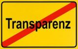 Thumbnail German city limits sign symbolising end of transparency