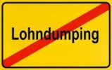Thumbnail German city limits sign symbolising end of wage dumping