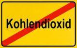 Thumbnail German city limits sign symbolising end of carbondioxide exposure