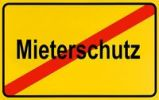 Thumbnail German city limits sign symbolising end of protection of tenants