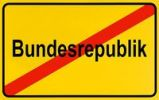 Thumbnail German city limits sign symbolising end of Federal Republic of Germany