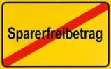 Thumbnail German city limits sign symbolising end of savers tax free amount