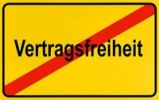 Thumbnail German city limits sign symbolising end of freedom of contract