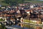 Thumbnail Würzburg city view old Main bridge Franconia Bavaria Germany